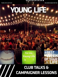 Young Life Club Talk Master - Spring 2014 Cover