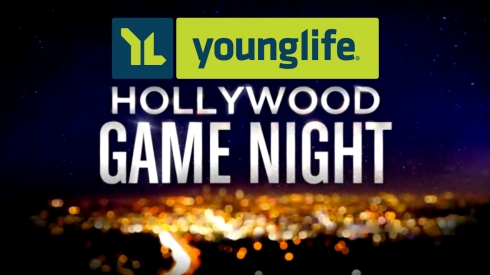 YL Hollywood Game Night Logo